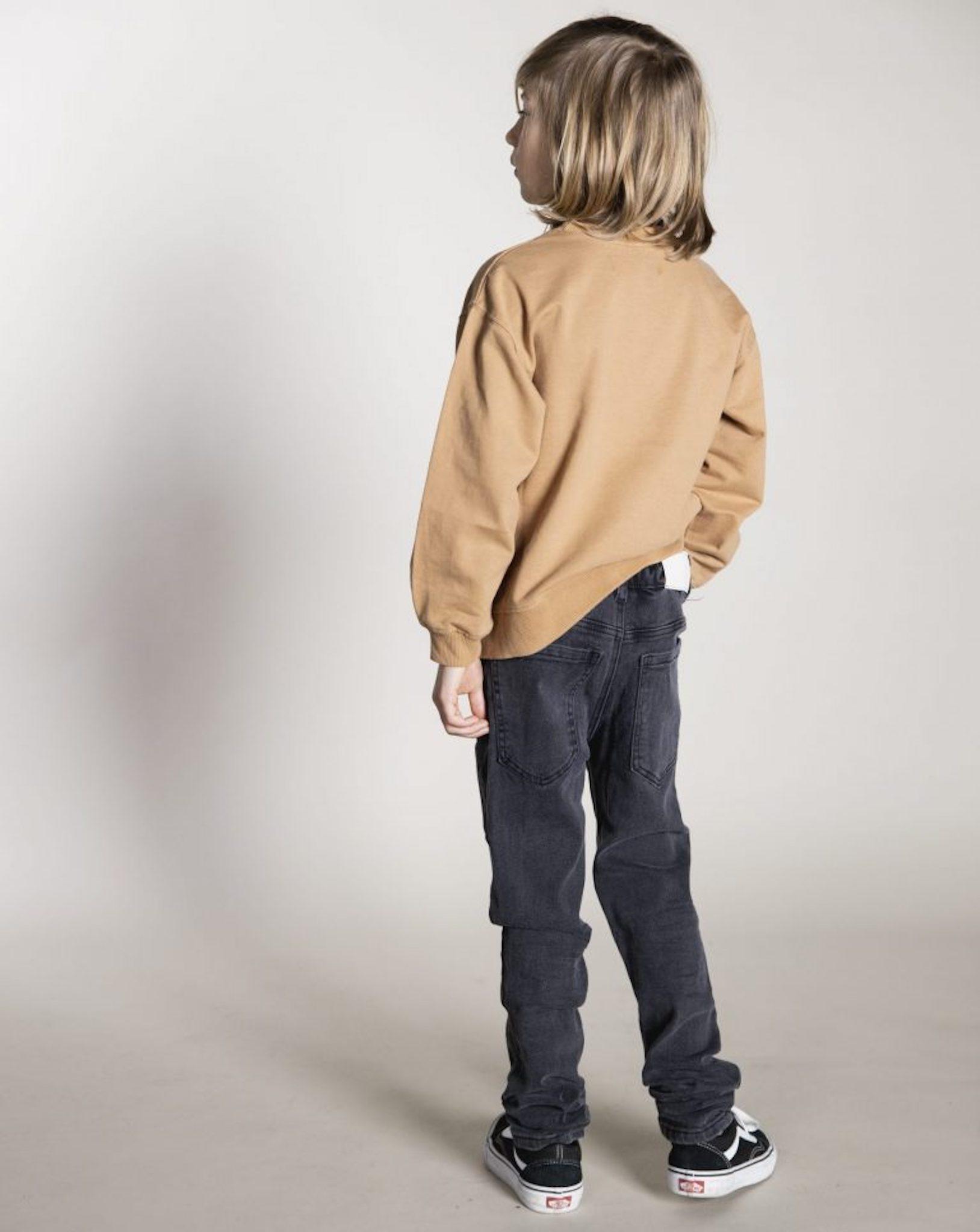 I dig denim - Bobby Sweater Organic - gold earth