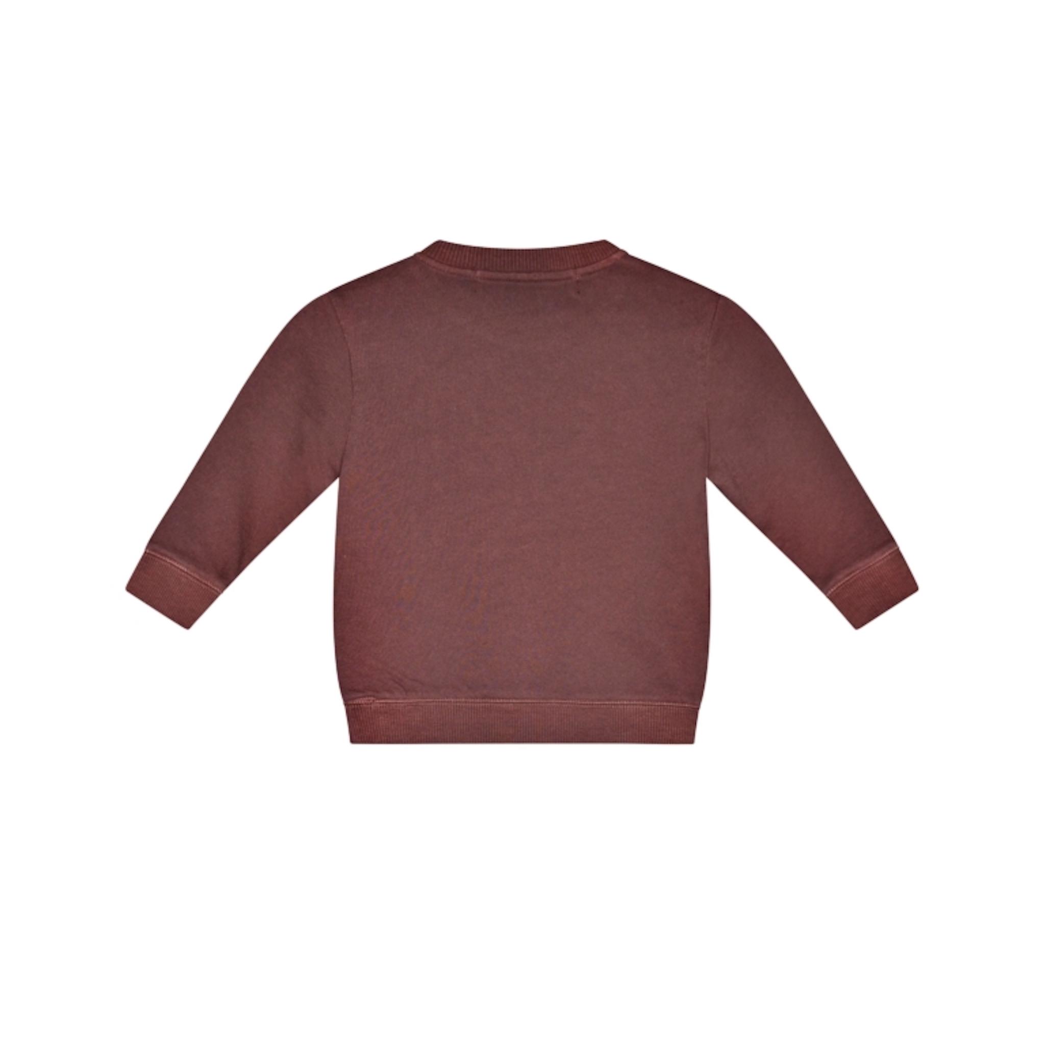 I dig denim - Jean Sweater Organic - dark ginger