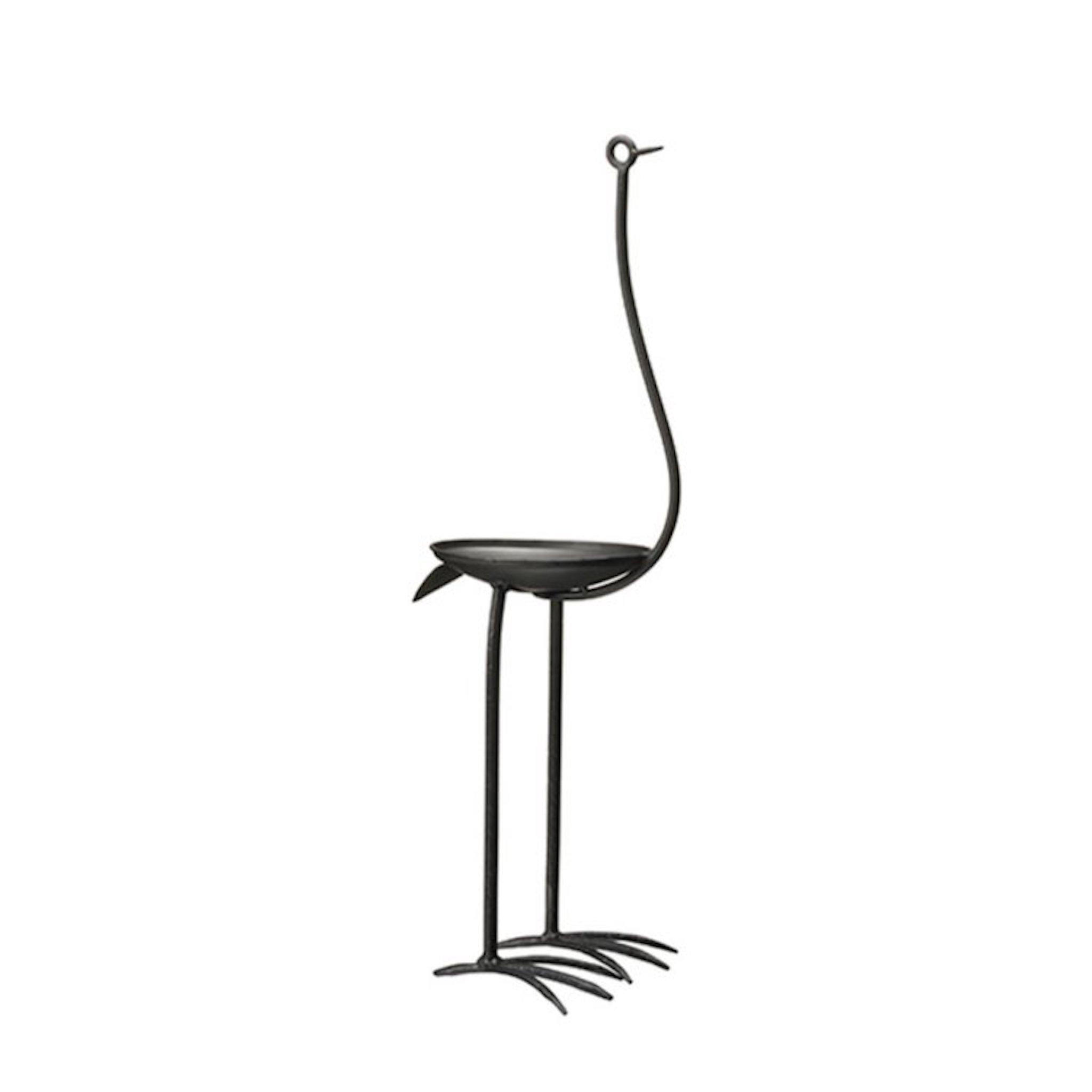 Fågel Skål - svart