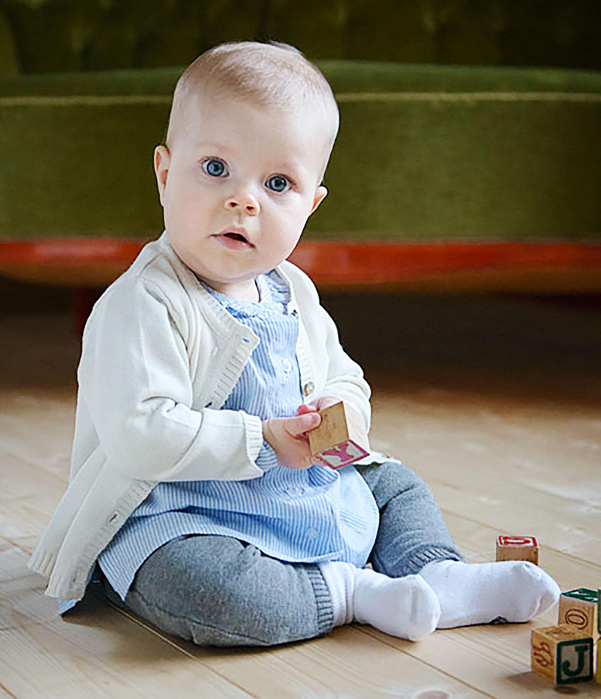Baby Cardigan - ivory