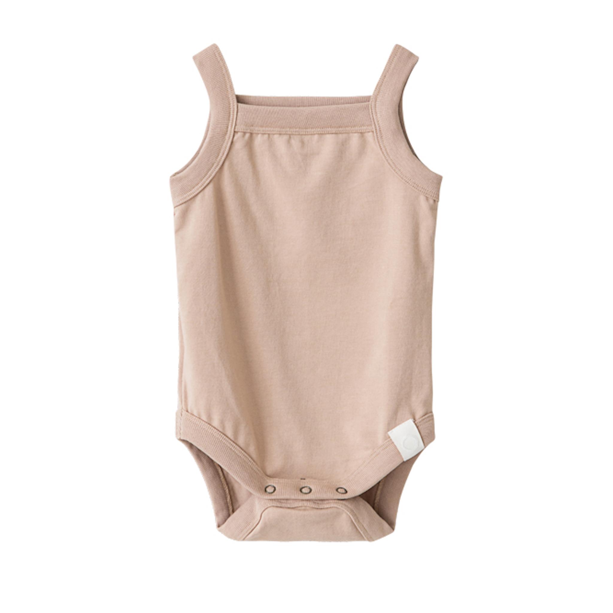 I dig denim - Rob Singlet Body Organic - pink sand