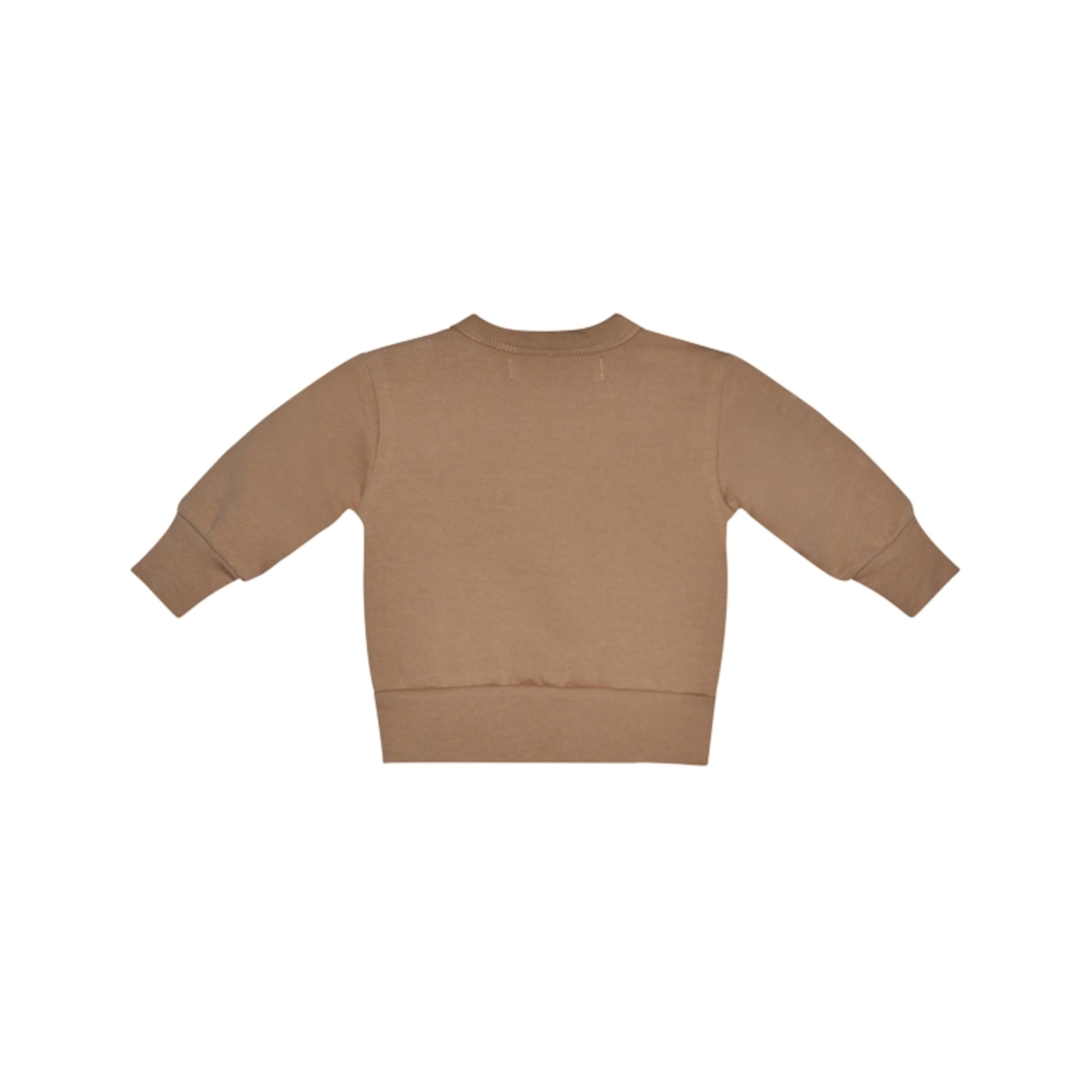 I dig denim - Ed Sweater Organic - brown