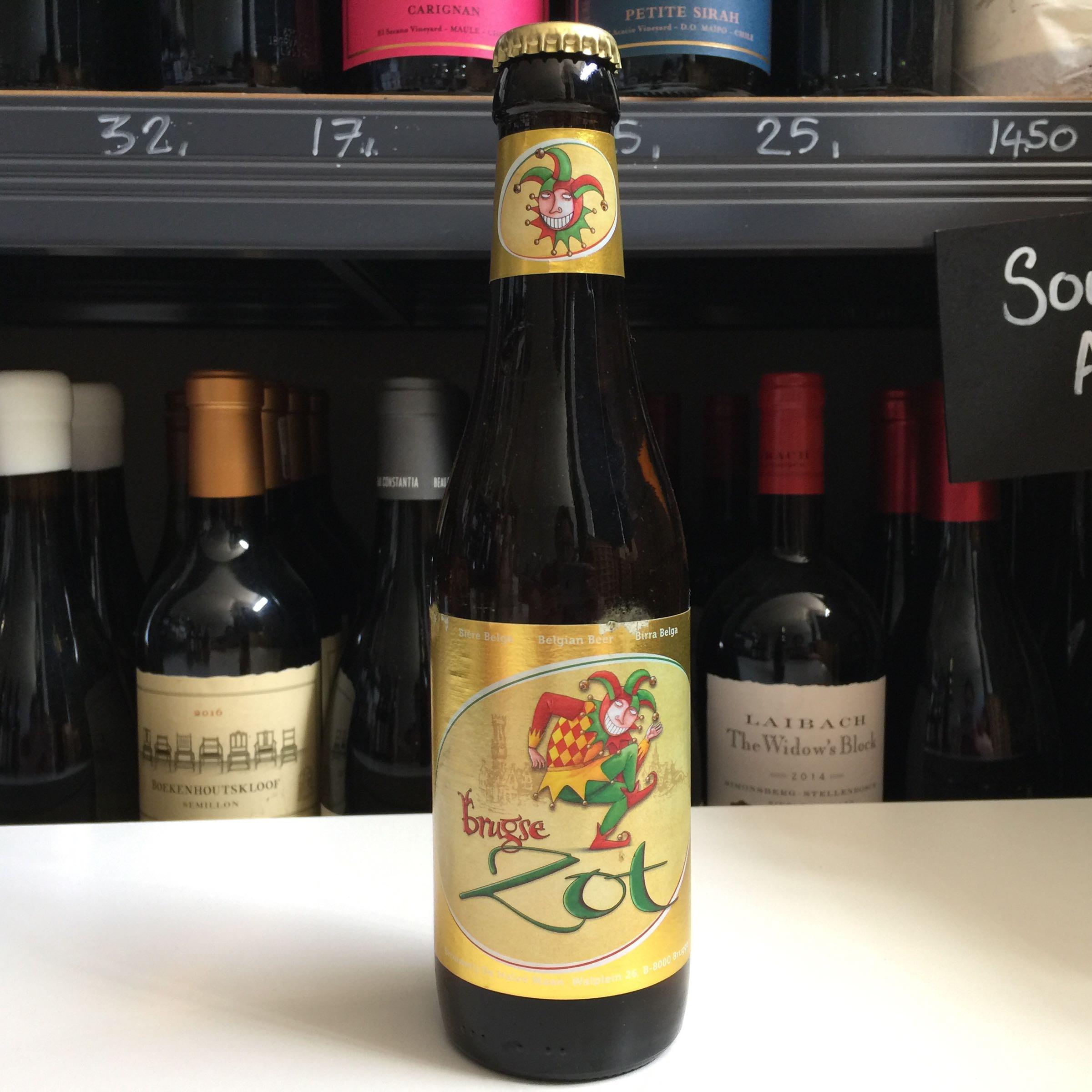Brugse Zot Blond ' Belgium Blond Beer' 33cl 6.0% ABV