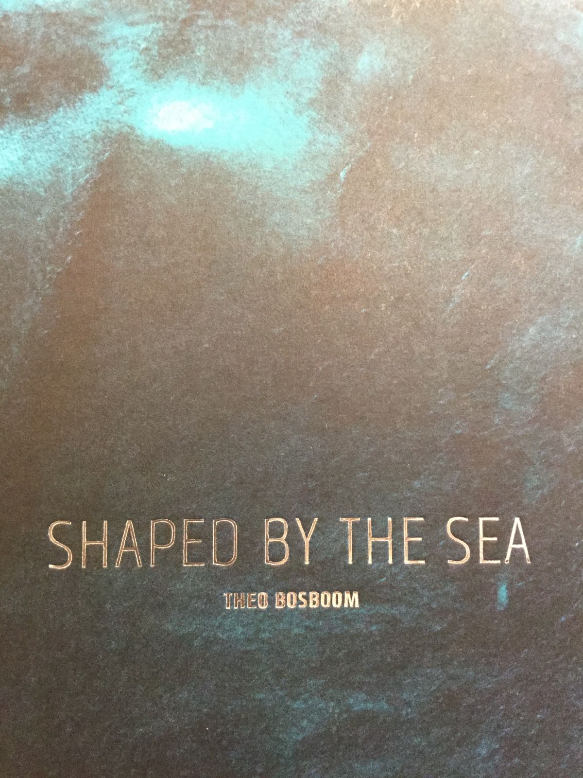 """""""Shaped by the sea"""" Theo Bosboom"""