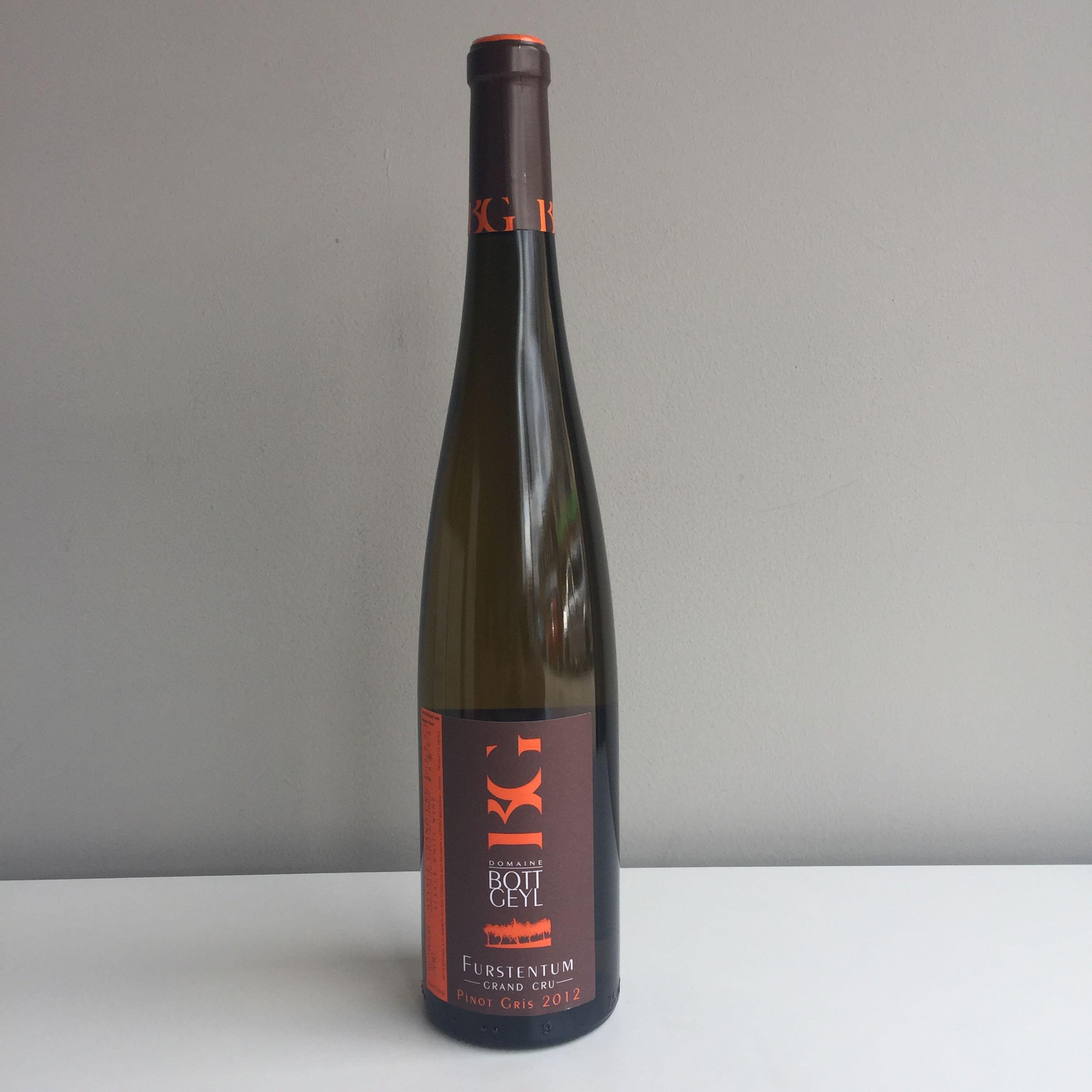 Domaine Bott-Geyl - Pinot Gris Grand Crus 2012