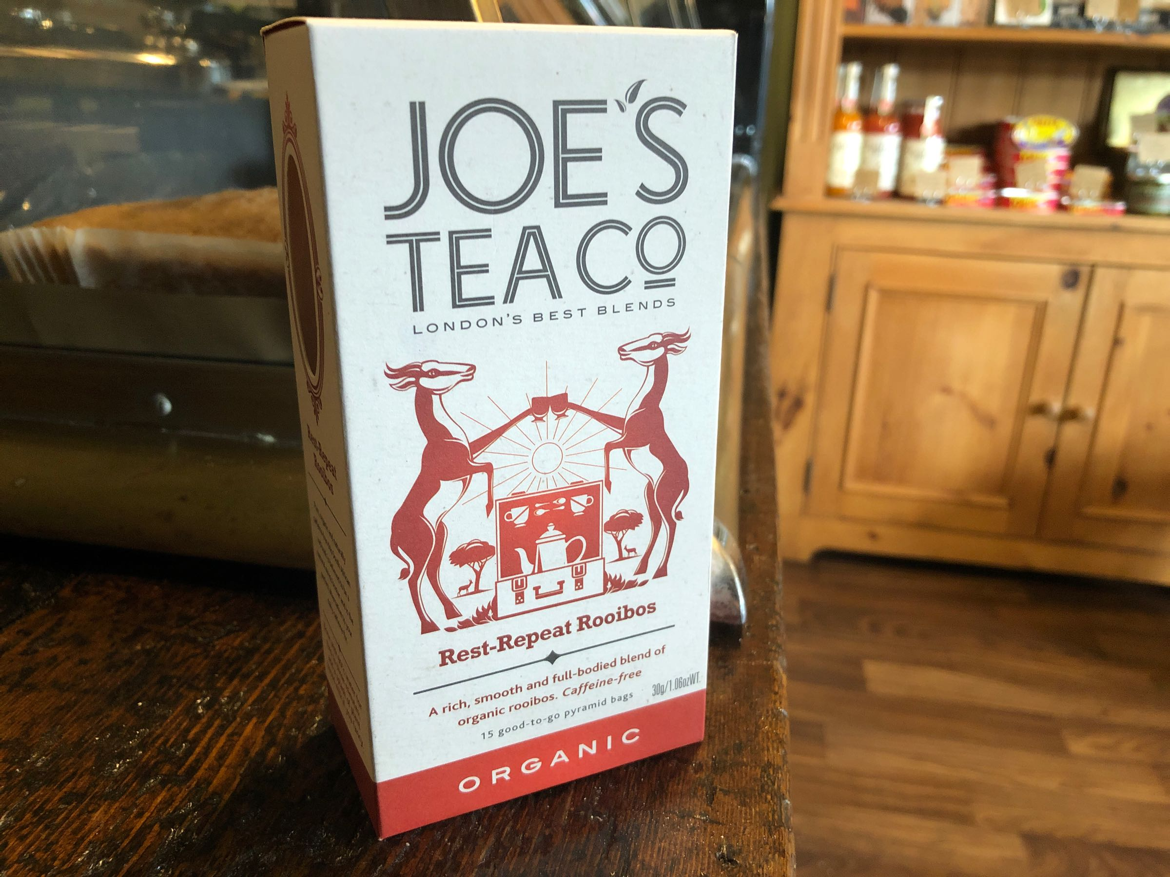 Joe's Tea Co. Rest-Repeat Rooibos – Organic