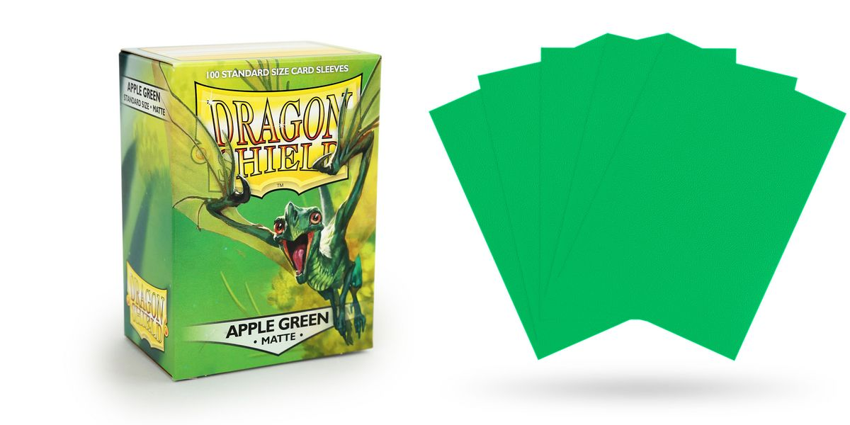 Dragon Shield Standard Size - Apple Green