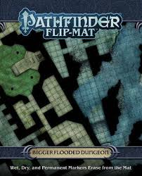 Pathfinder Flip-Mat Bigger Flooded Dungeon