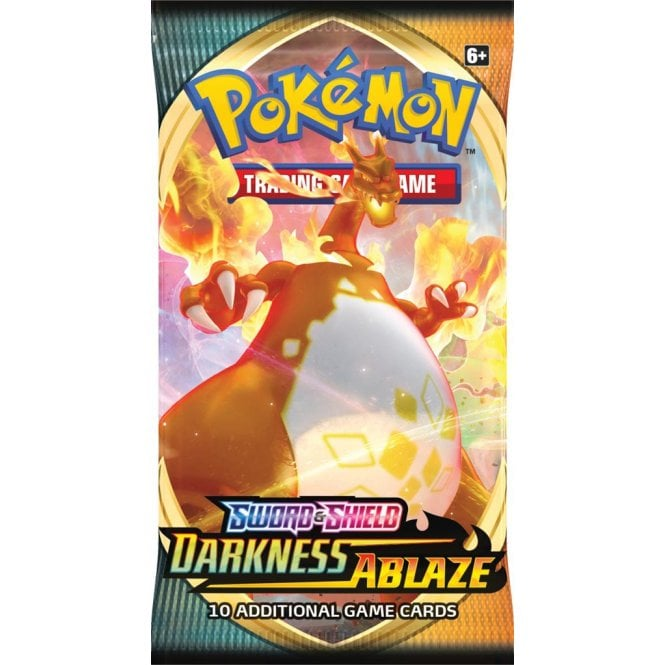 Pokemon Darkness Ablaze Booster Pack