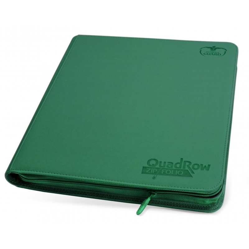Ultimate Guard 12-Pocket QuadRow Zipfolio XenoSkin