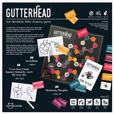 Gutterhead - The Fiendishly Filthy Drawing Game [Party Board Game for Adults]