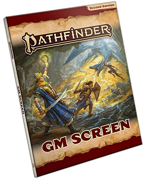 Pathfinder 2nd Edition Advanced GM Screen