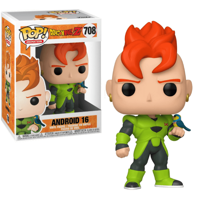 FUNKO POP! ANIMATION - DRAGONBALL Z #708 ANDROID 16