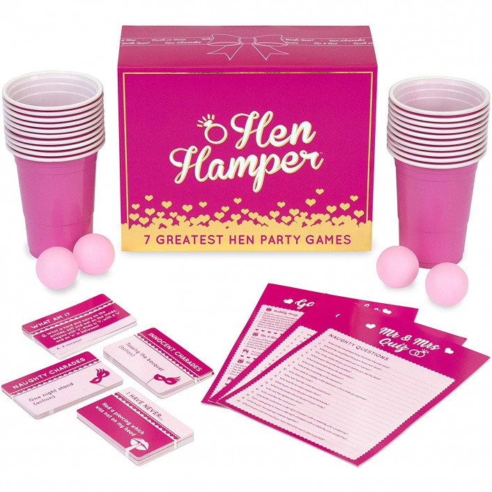 Hen Hamper - 7 Greatest Hen Party Games