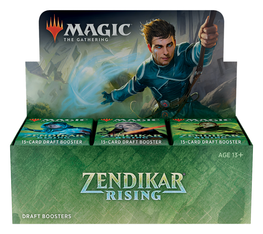 Zendikar Rising Draft Booster Box