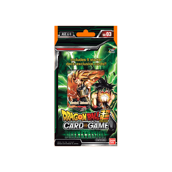 DBS Card Game: Starter Deck Dark Invasion