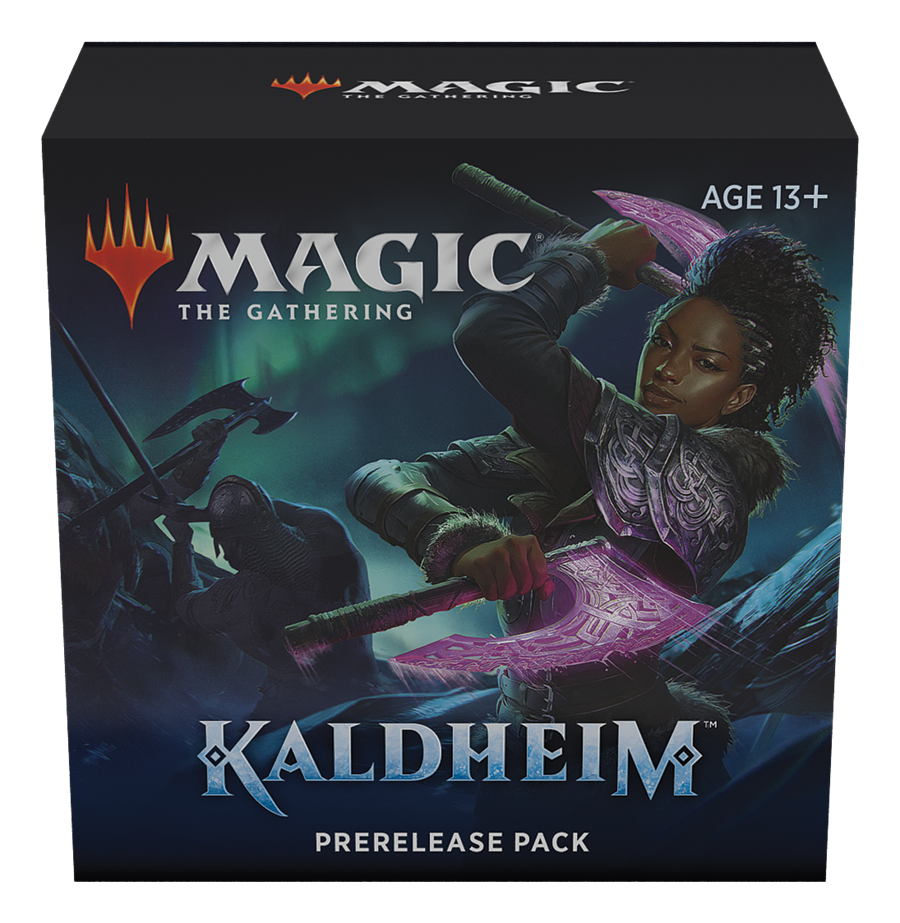 Kaldheim Prerelease at Home