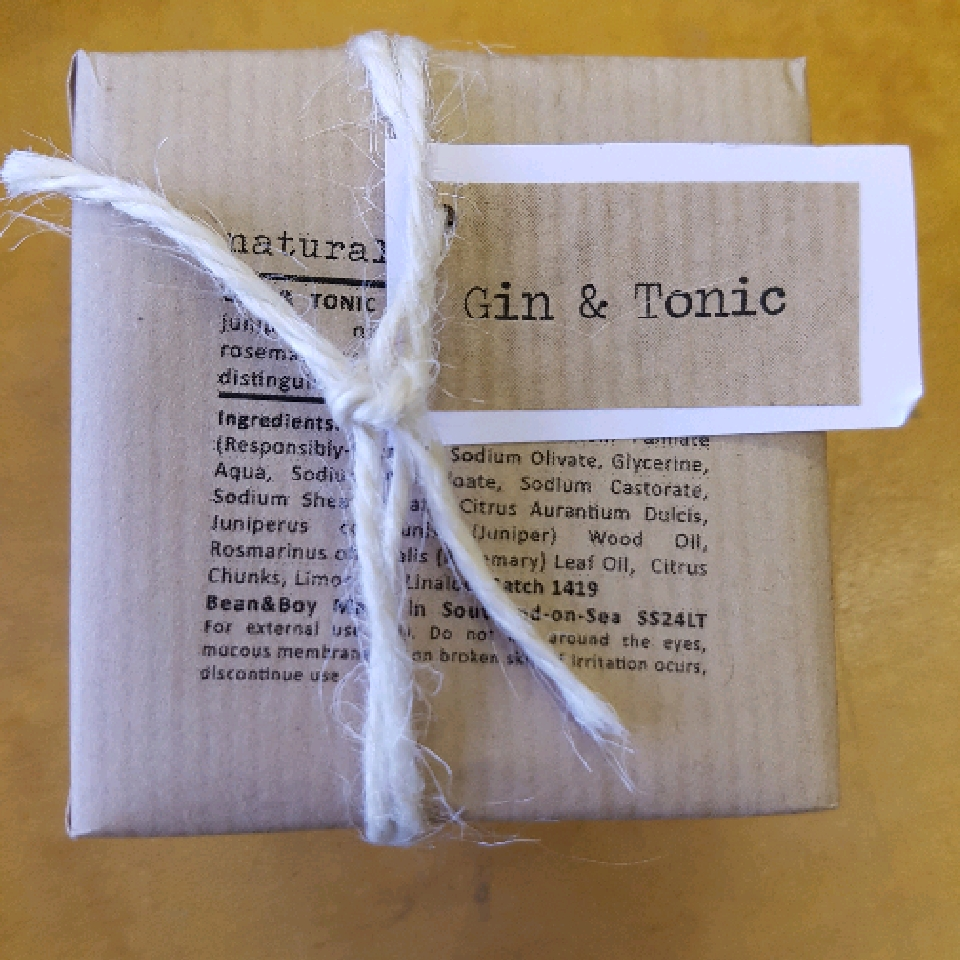 Gin and Tonic - 110g soap