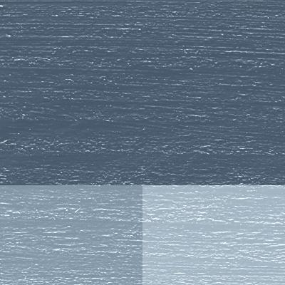 Linoljemaling Bergblå