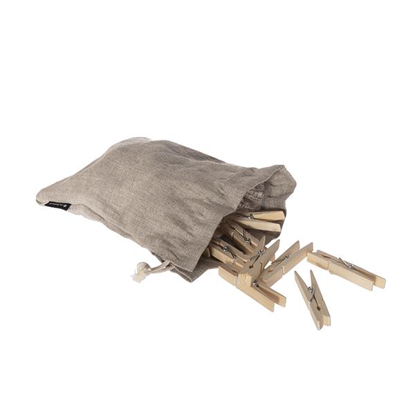 Klesklyper i tre i linpose