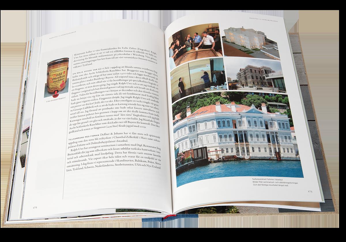 En bok om linoljefärg, kärlek och Genarp