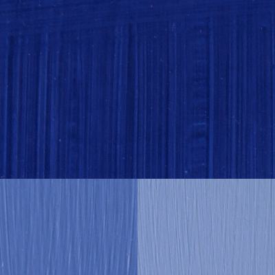 Kunst Olje Ultramarinblå