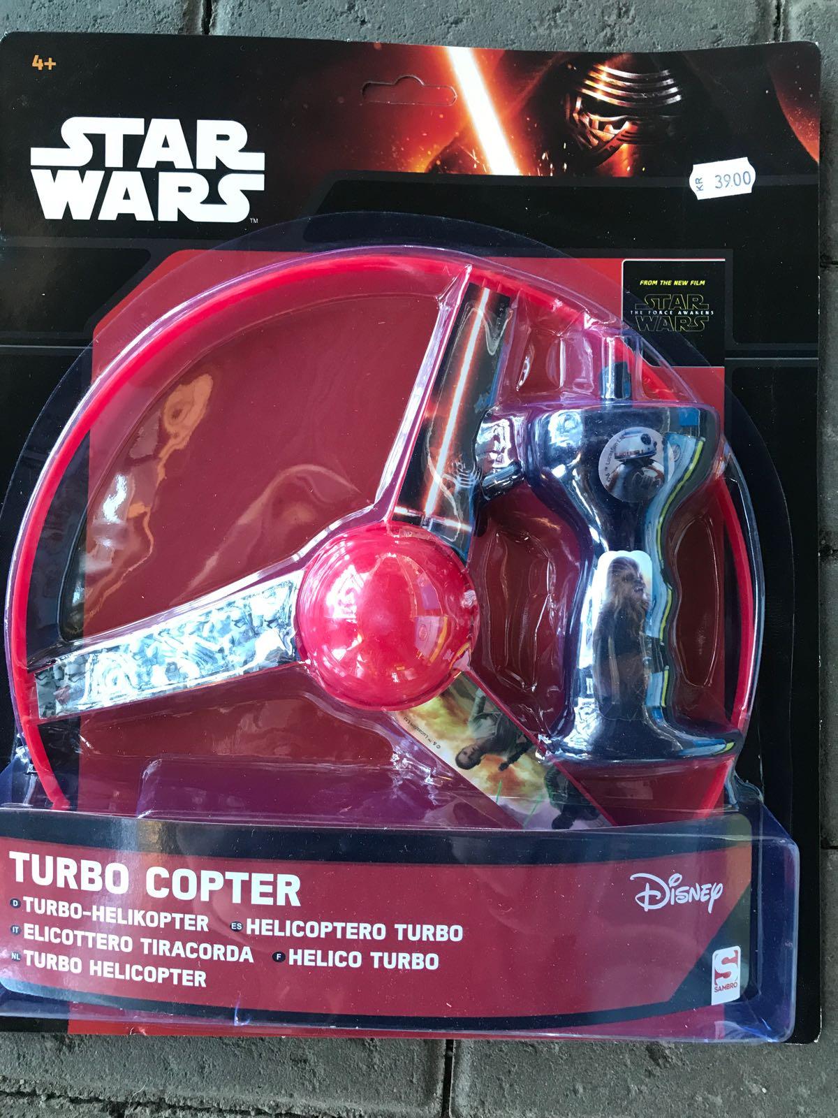 "Turbo-helikopter ""Star wars"""