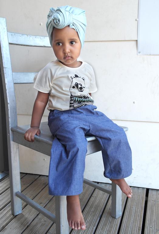 Sinai, leveälahkeiset housut