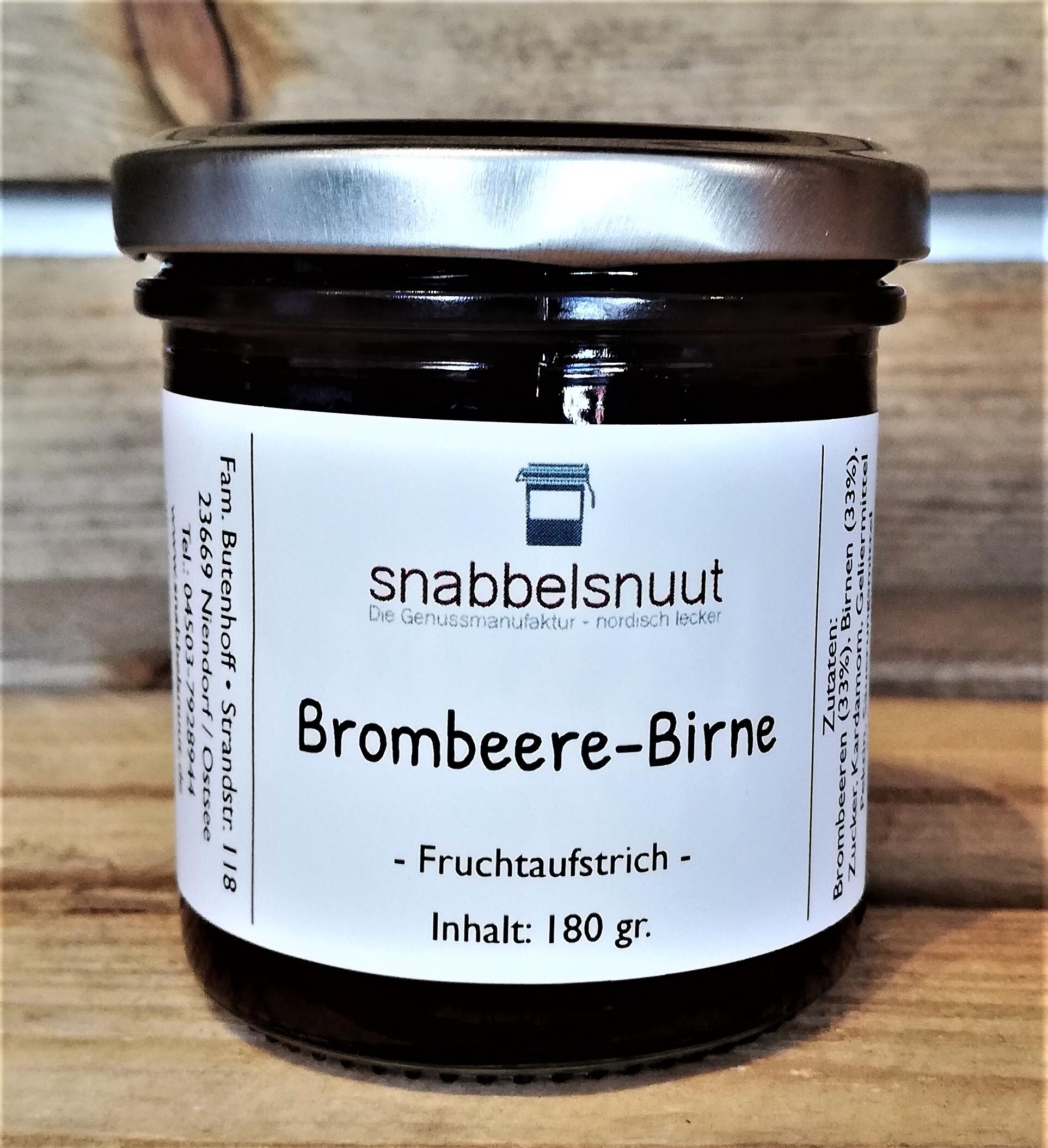 Brombeere-Birne