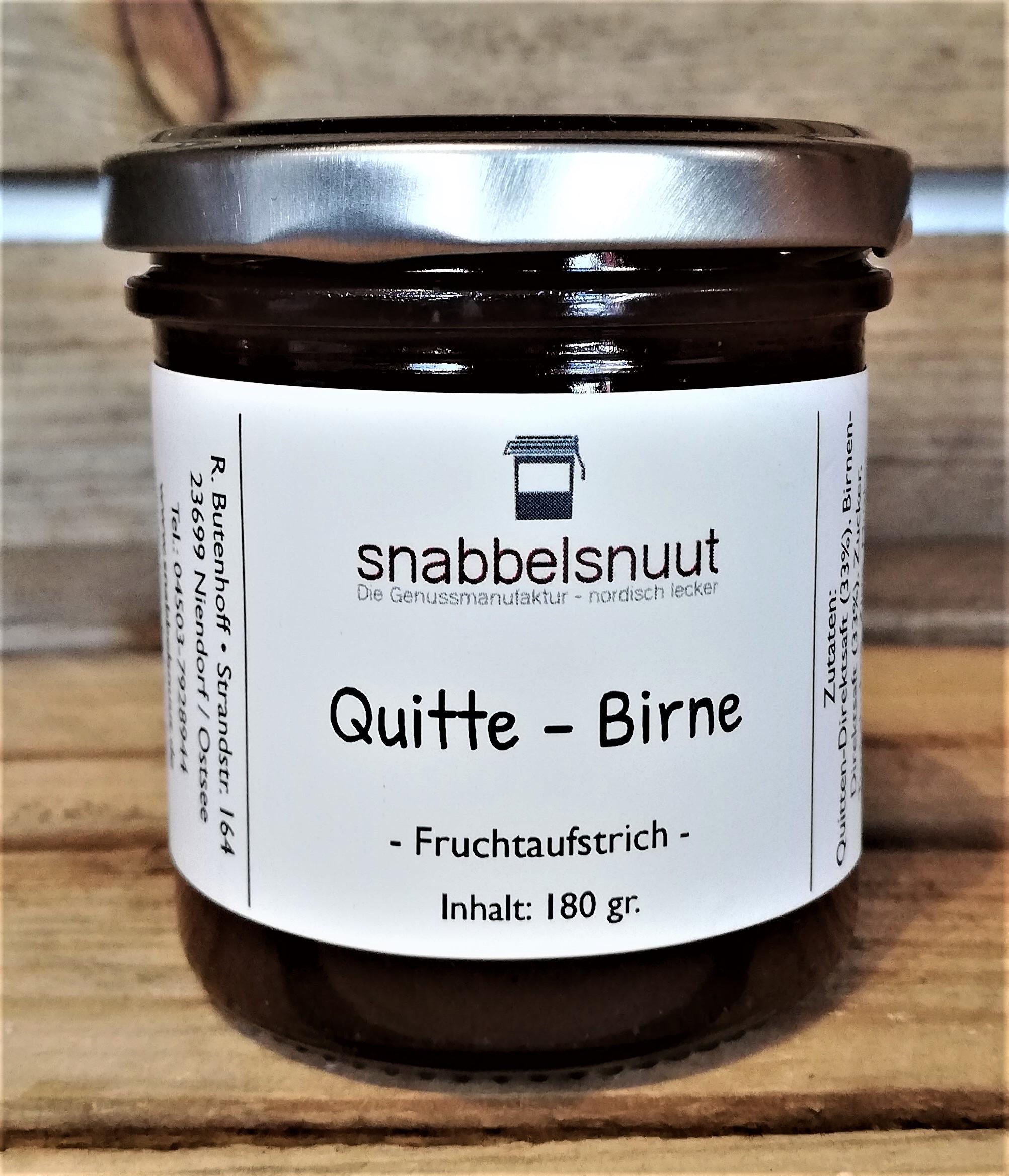 Quitte - Birne
