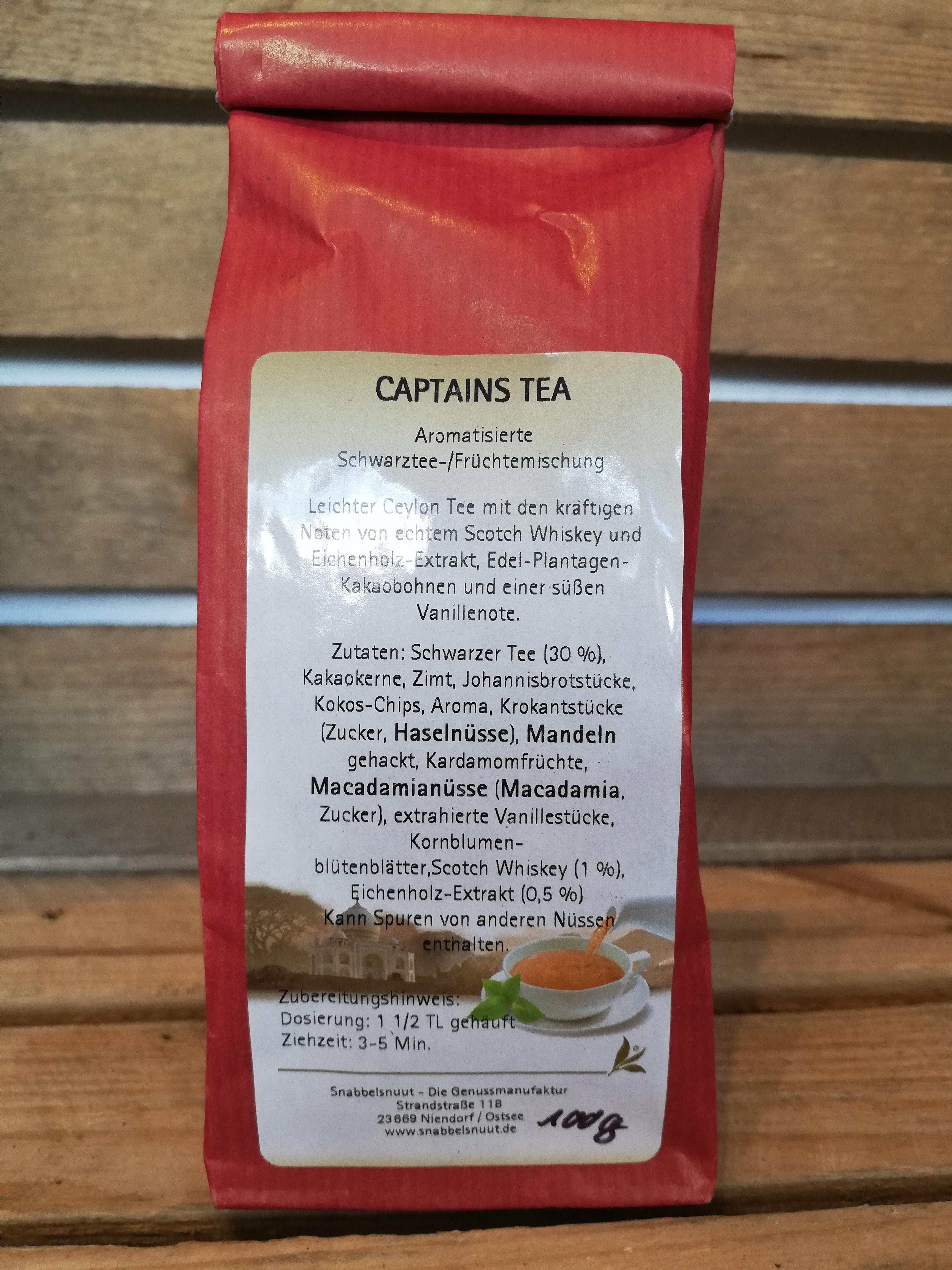 Captains Tea