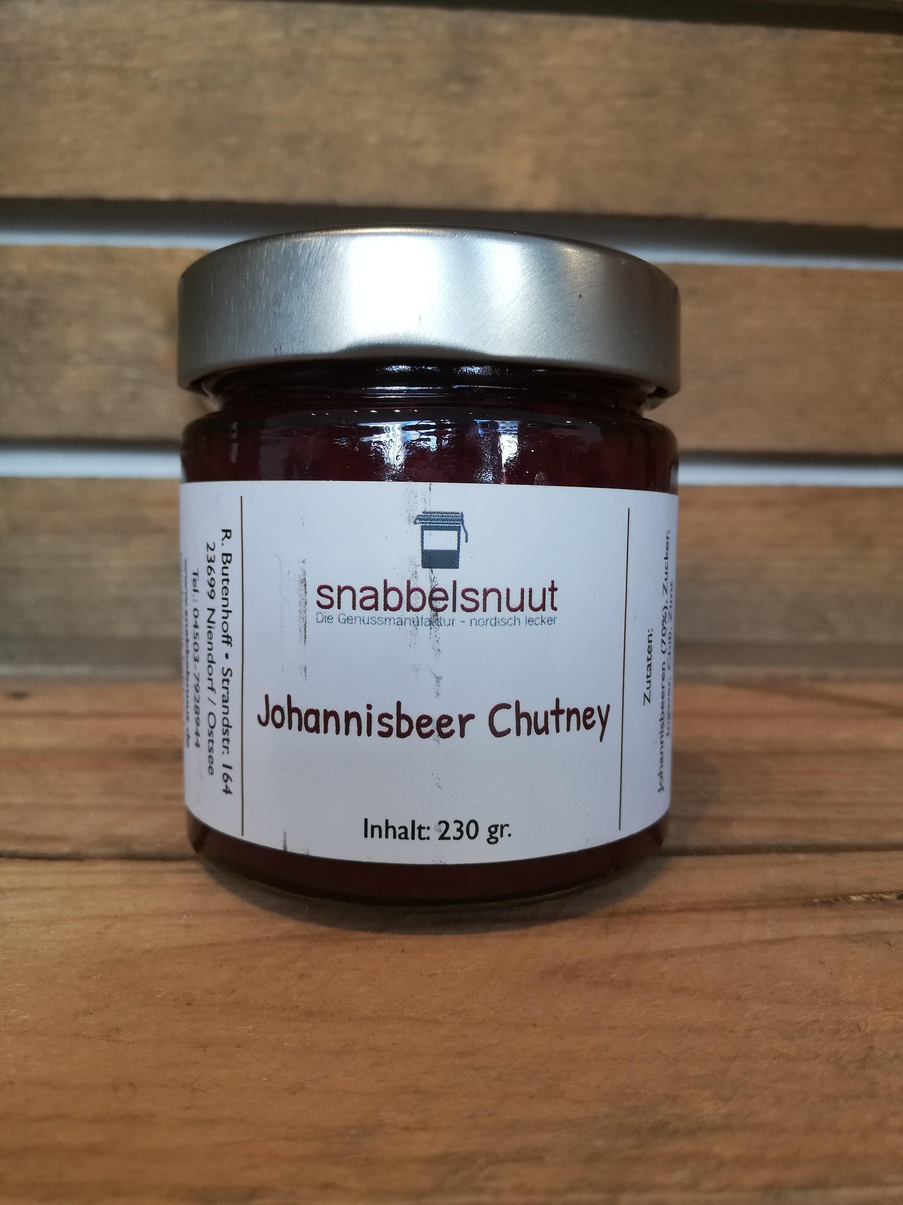 Johannisbeer-Chutney