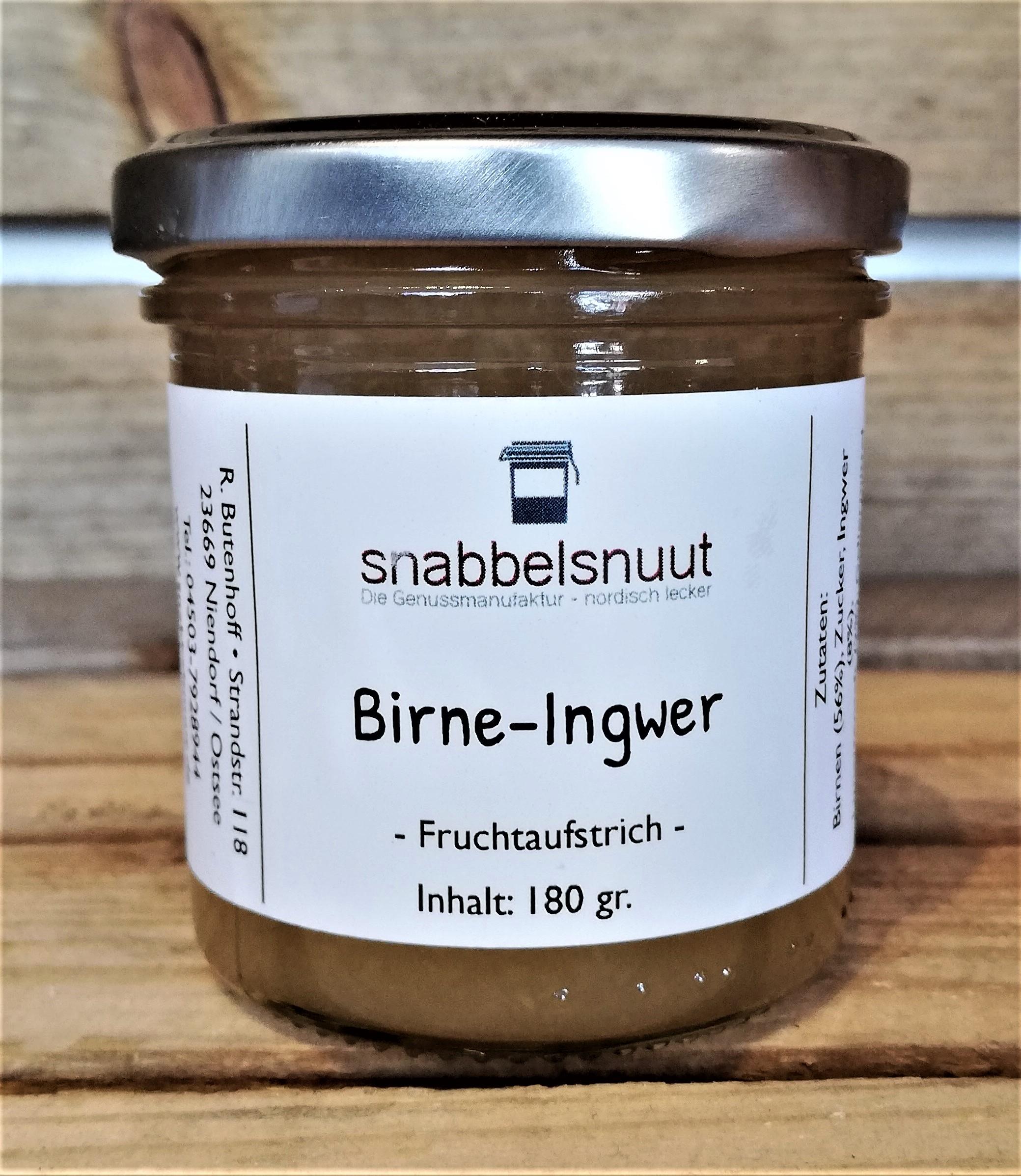 Birne-Ingwer