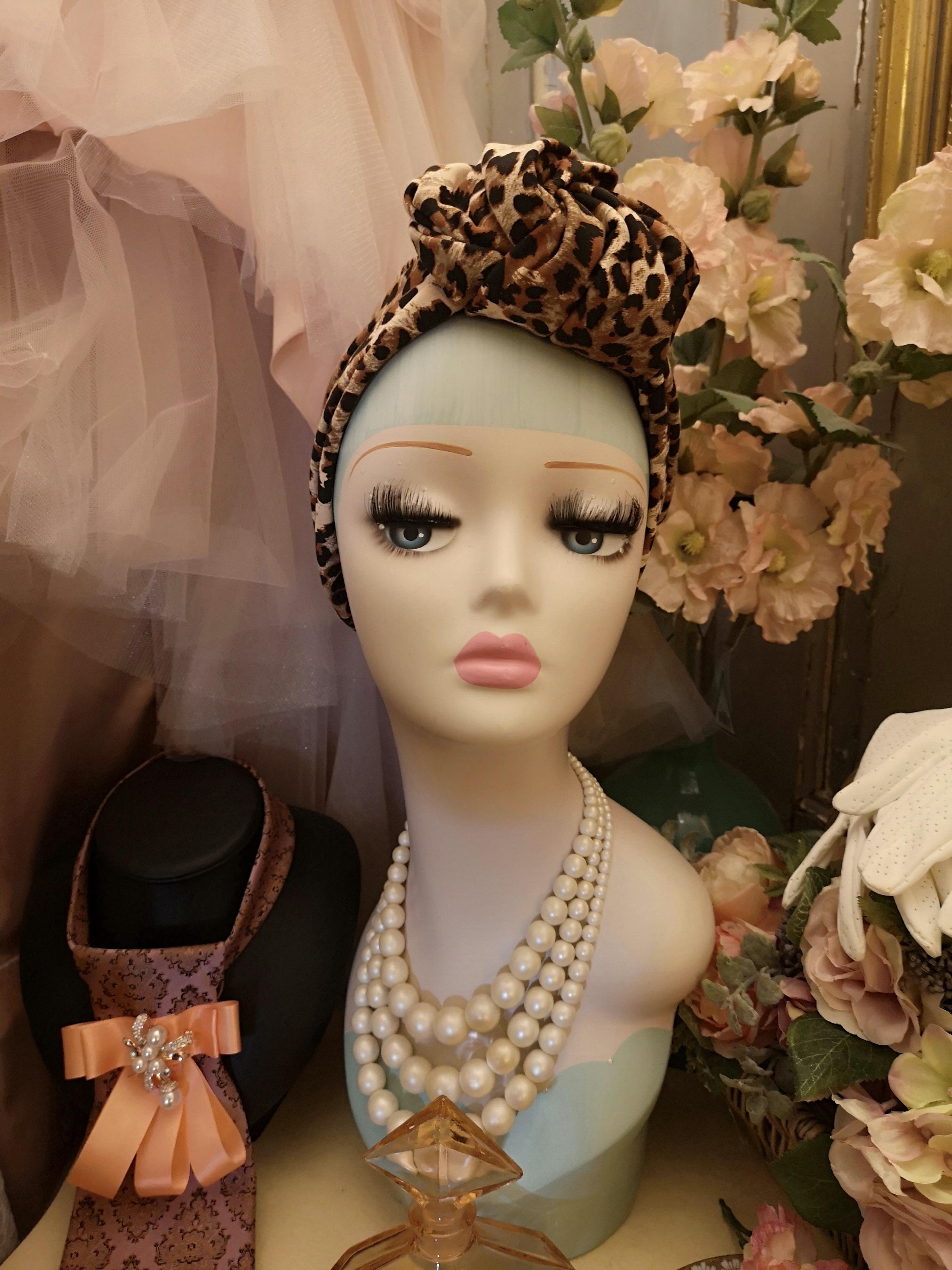 Vintagestyle turban