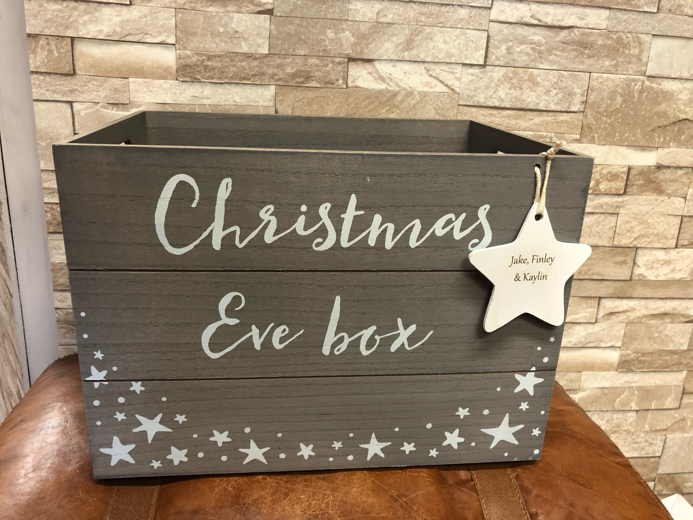 Christmas Eve crate (includes personalisation)