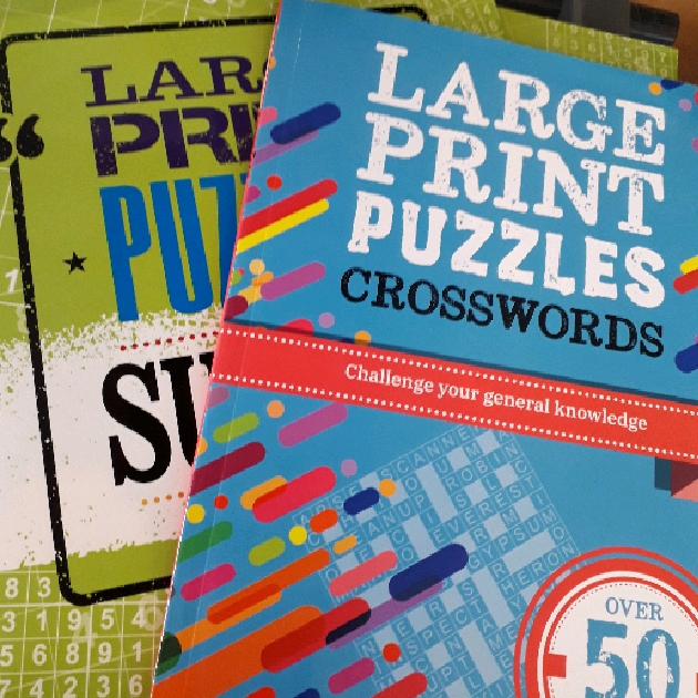 Large Print Puzzle Books