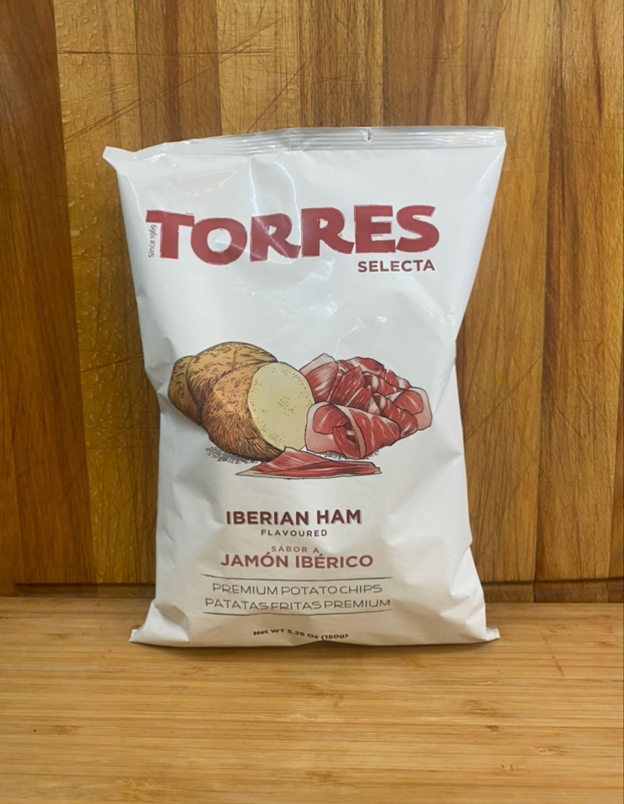 Torres Iberian Ham Crisps