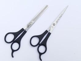 Scissor set 2 Witte solingen
