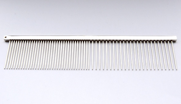 Highly polished comb 19cm