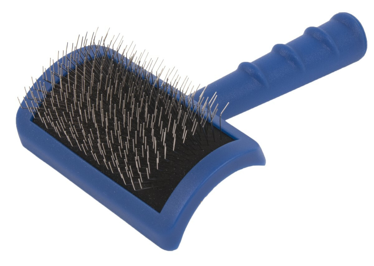 Show Tech Tuffer Than Tangles Slicker Brush (Long Firm Pin) - Medium #23