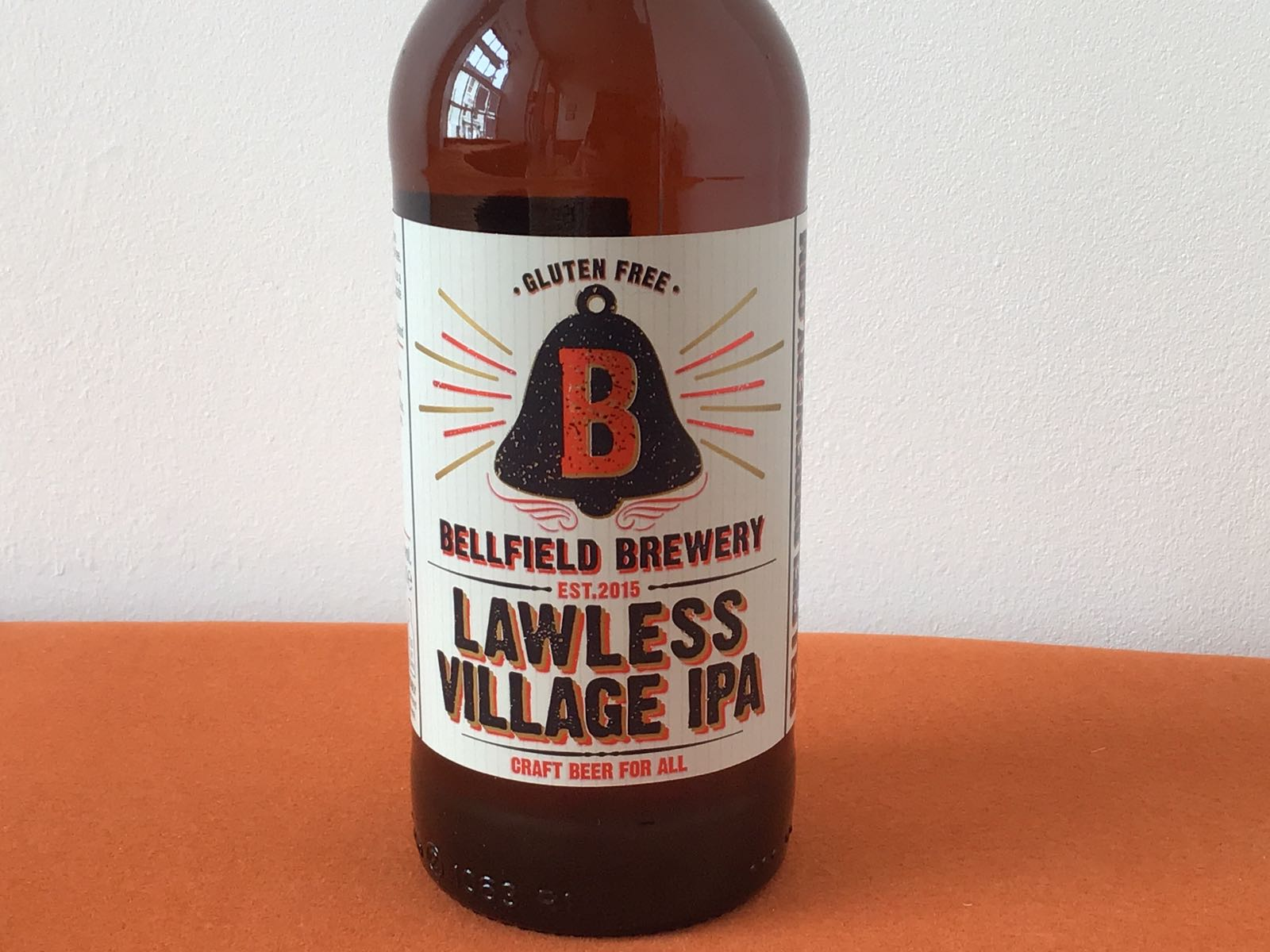 Bellfield Brewery: Lawless Village IPA Gluten  Free