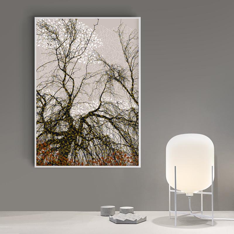 Trær 03, A1 59,4x84cm