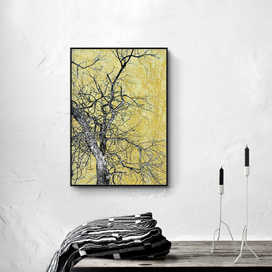 Trær 01, A1 59,4x84cm