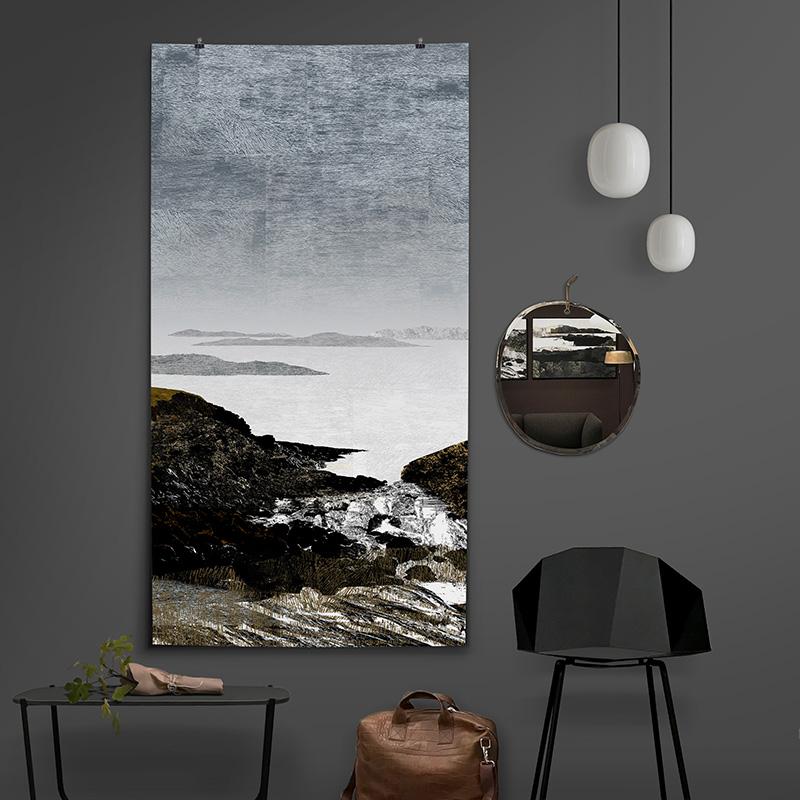 Fragile Coast 01, 90x170cm