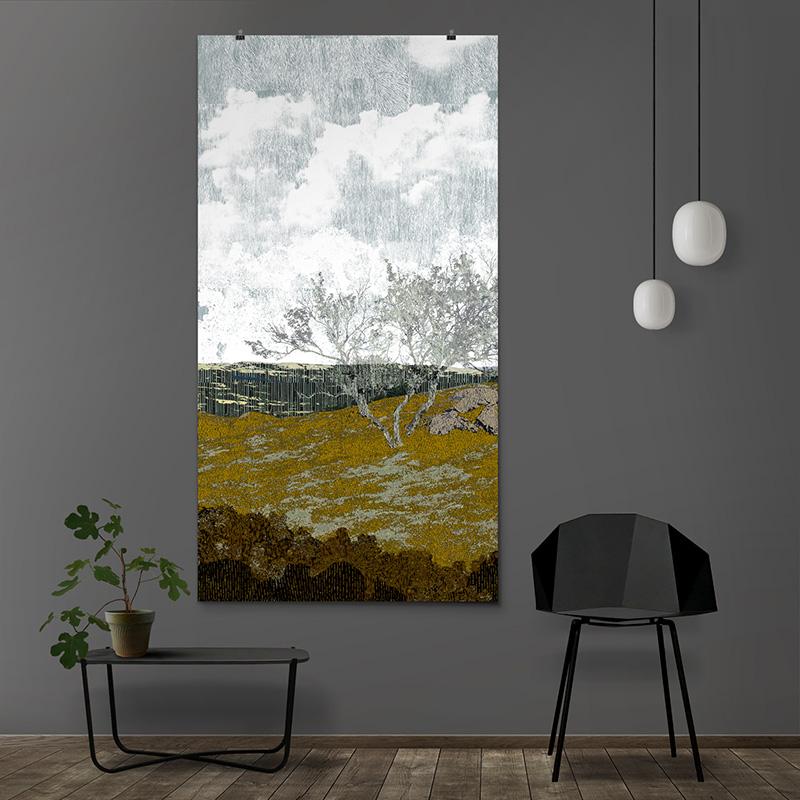 Fragile Landscape 03, 90x170cm