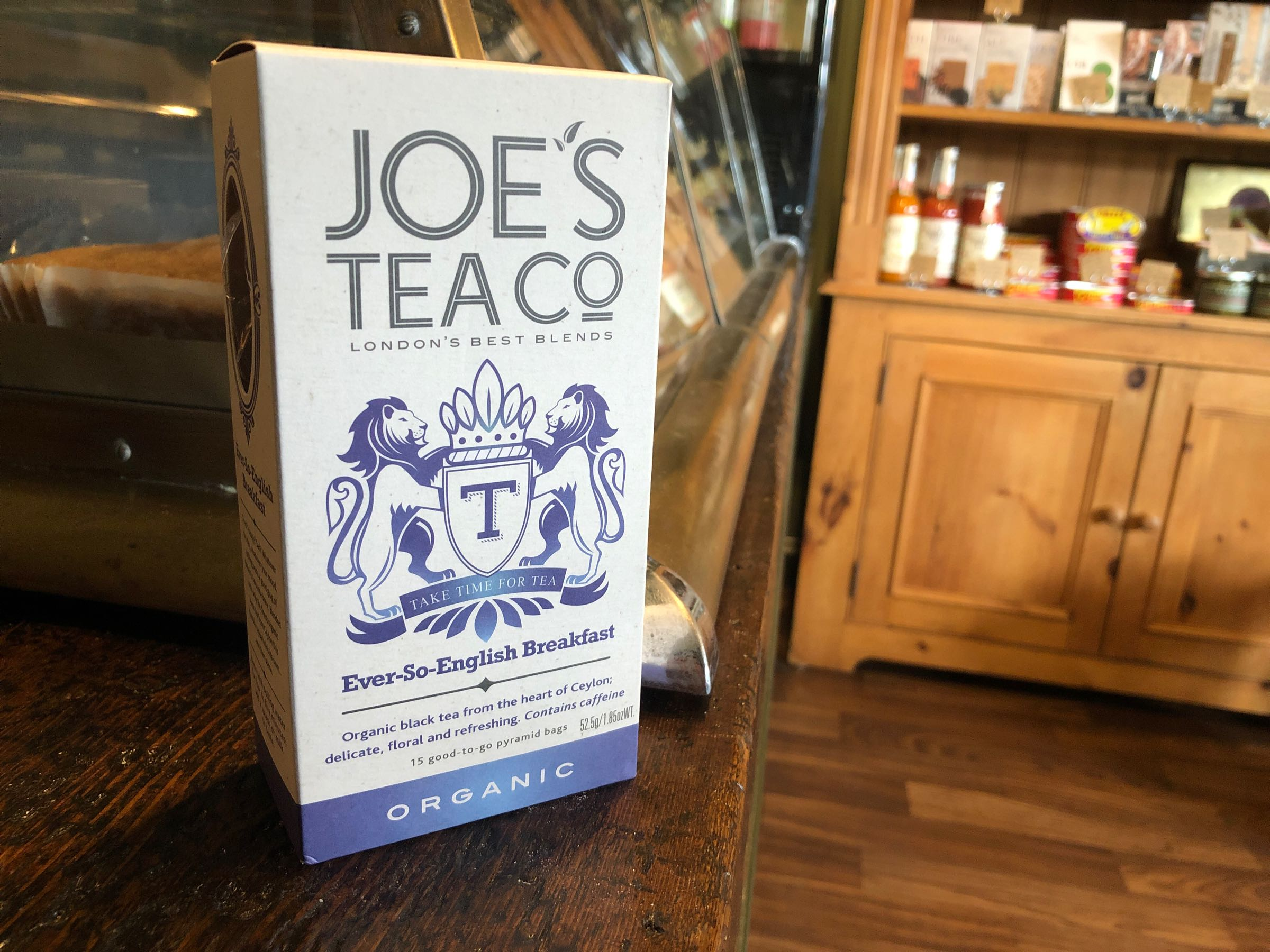 Joe's Tea Co. Ever-So-English Breakfast - Organic