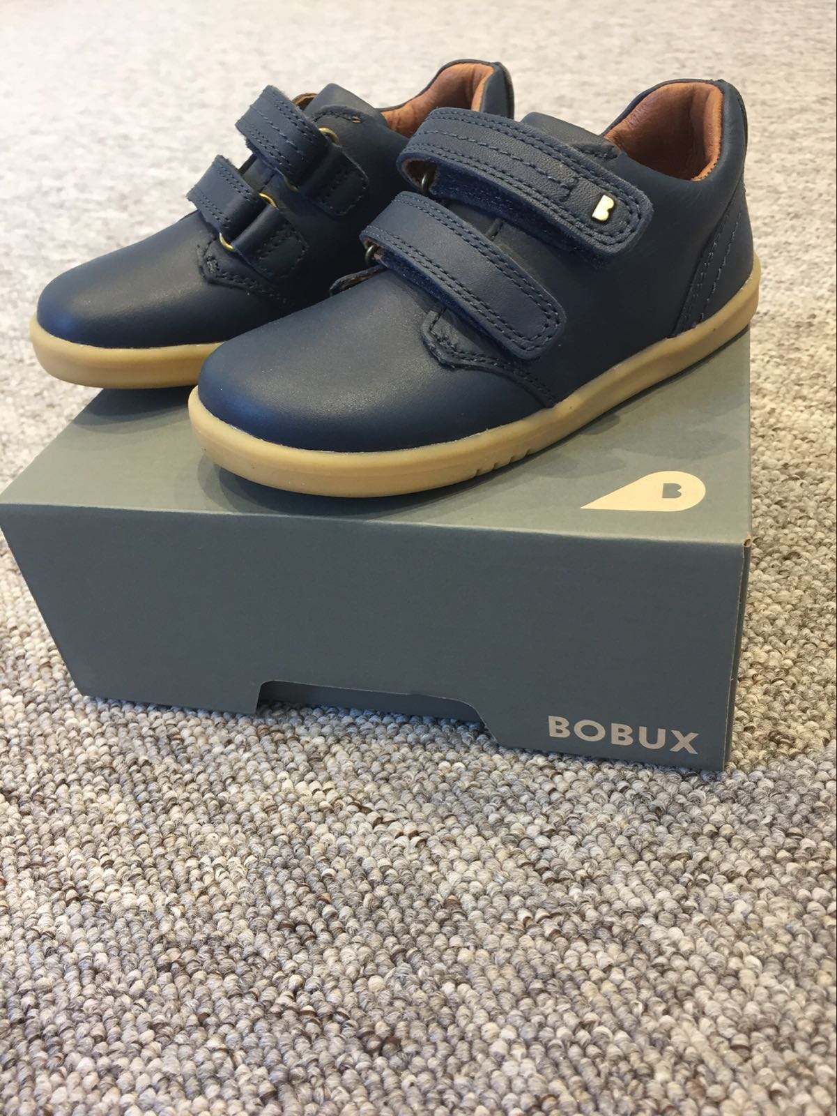 Bobux IW Port Dress Shoe Navy