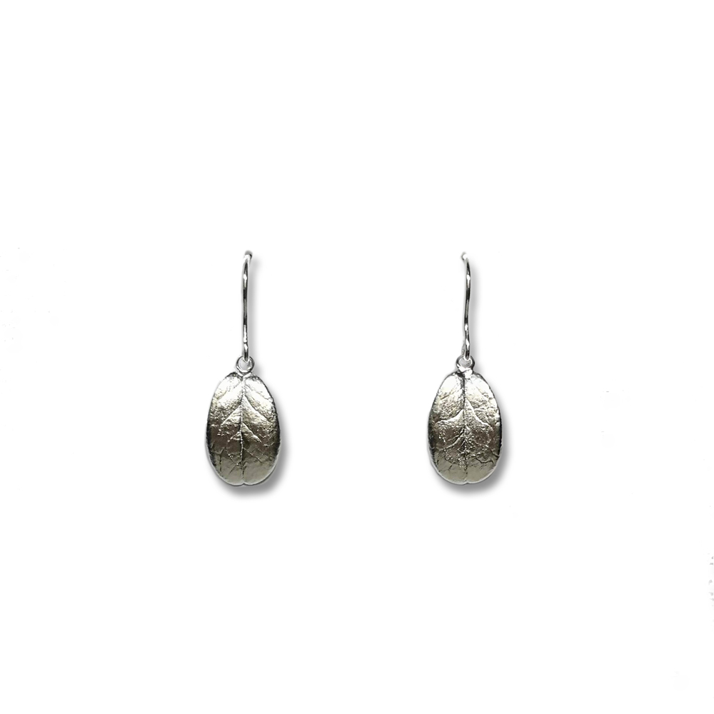 Eternal Lingon earrings, silver