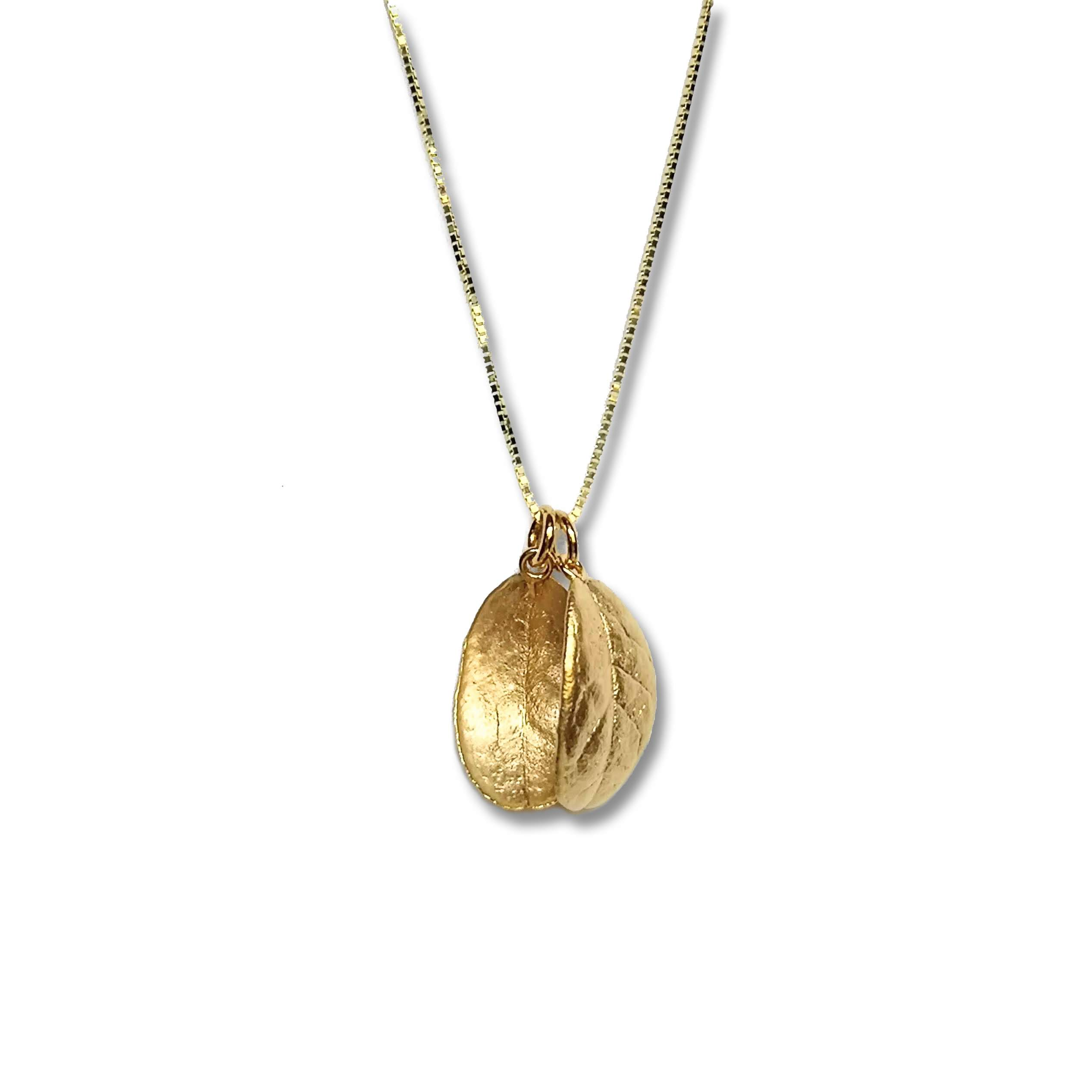 Eternal Lingon necklace, golden