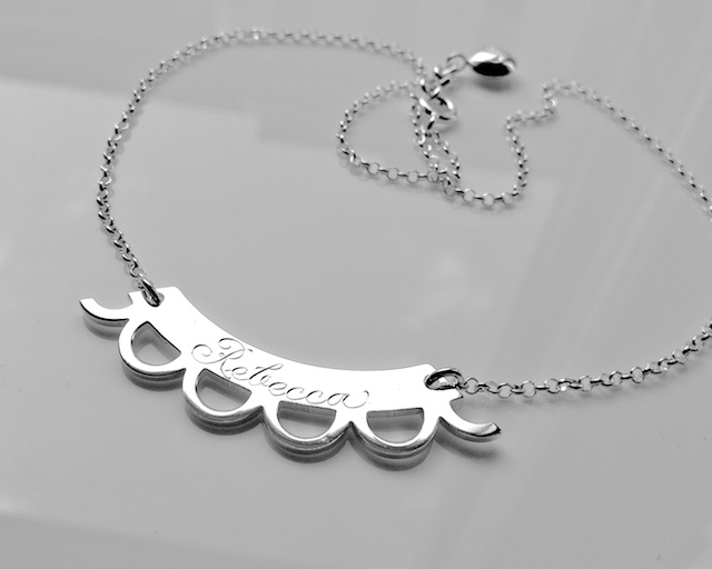 Pitsisirpale name necklace